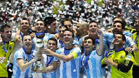 Argentina lan dau vo dich futsal World Cup - Anh 1