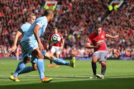M.U vs Stoke City (1-1): 'Quy do' bi niu chan - Anh 1