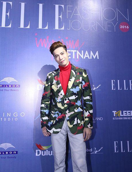 'Ban gai Cuong Dola', Ha Vi an tuong tren tham do 'Elle Show 2016' - Anh 9