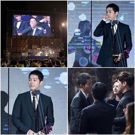 KET QUA APAN: Song Joong Ki gianh Giai thuong lon va Cap doi dep nhat, Lee Jong Suk trang tay - Anh 9