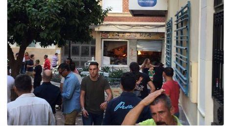 Tay Ban Nha: No binh ga o quan cafe gay nhieu thuong vong - Anh 1