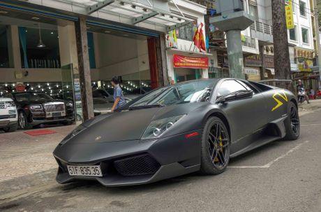 Sieu xe Lamborghini cu cua Minh Nhua ra bien so moi - Anh 2