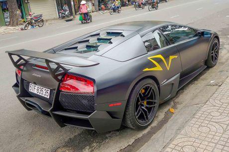 Sieu xe Lamborghini cu cua Minh Nhua ra bien so moi - Anh 6