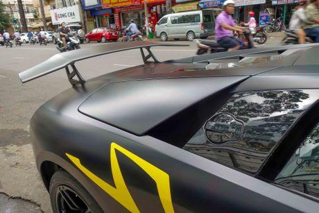 Sieu xe Lamborghini cu cua Minh Nhua ra bien so moi - Anh 7