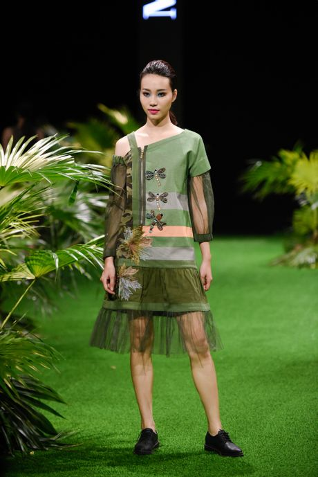 Bo suu tap khac biet nhat tai Vietnam Fashion Week - Anh 10