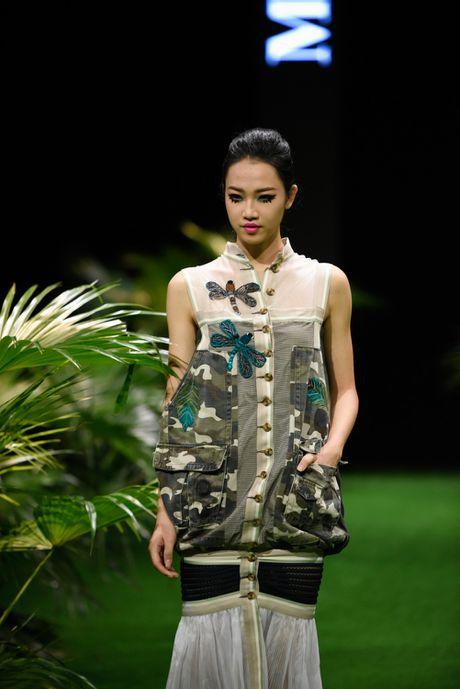 Bo suu tap khac biet nhat tai Vietnam Fashion Week - Anh 6
