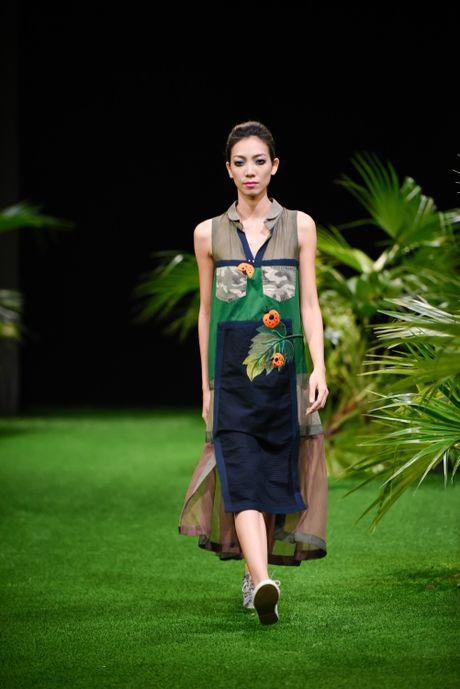 Bo suu tap khac biet nhat tai Vietnam Fashion Week - Anh 9