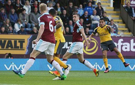Burnley 0-0 Arsenal: Phao thu be tac (H2) - Anh 1