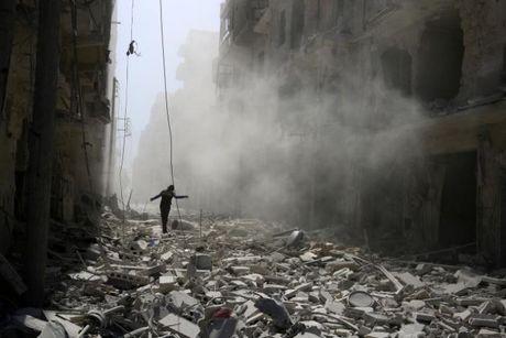 Syria: Nga bi to ban ten lua trung benh vien o Aleppo - Anh 1