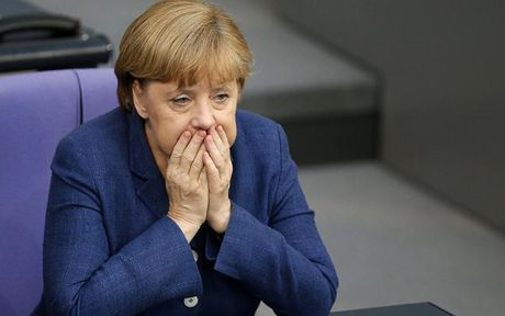Su nghiep chinh tri cua ba Merkel co kha nang ket thuc tai day - Anh 1