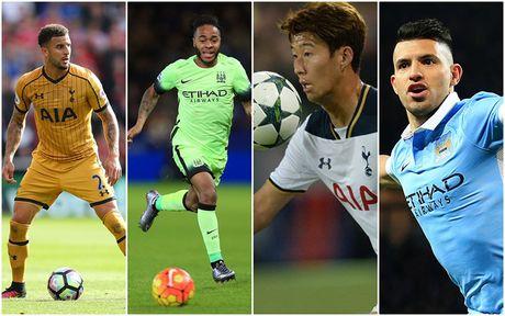 Doi hinh 'sieu manh' ket hop giua Tottenham voi Man City - Anh 1