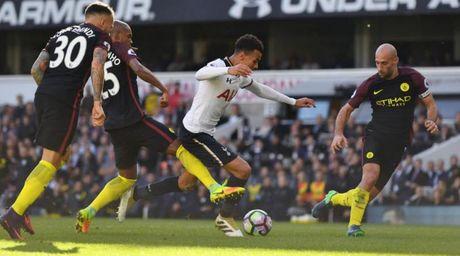 Danh bai Man City, sao Tottenham to ra phan khich - Anh 1