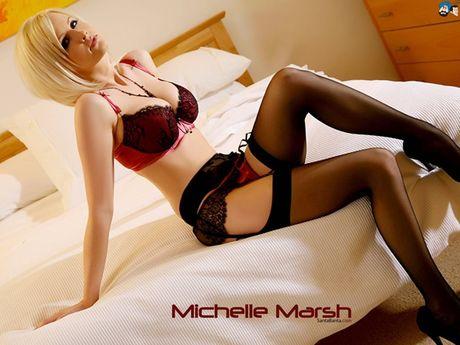 Ve sexy kho cuong cua Michelle Marsh - Anh 7