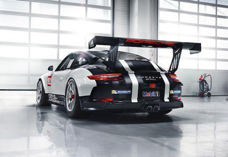 Can canh 'xe dua hang khung' Porsche 911 GT3 Cup moi - Anh 2