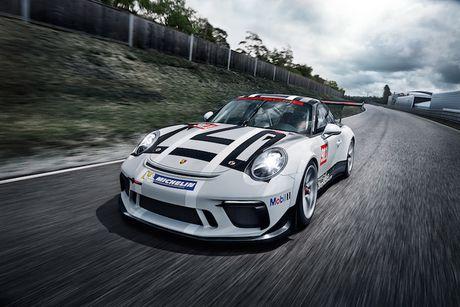 Can canh 'xe dua hang khung' Porsche 911 GT3 Cup moi - Anh 5