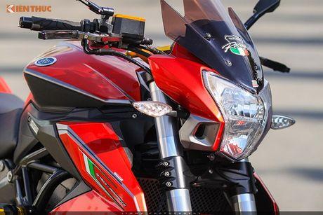 Moto PKL 'tau' Benelli BN600i do do choi hieu tai Sai Gon - Anh 3