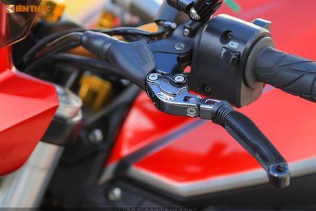 Moto PKL 'tau' Benelli BN600i do do choi hieu tai Sai Gon - Anh 4