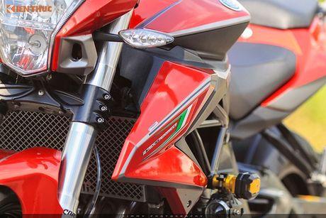 Moto PKL 'tau' Benelli BN600i do do choi hieu tai Sai Gon - Anh 5