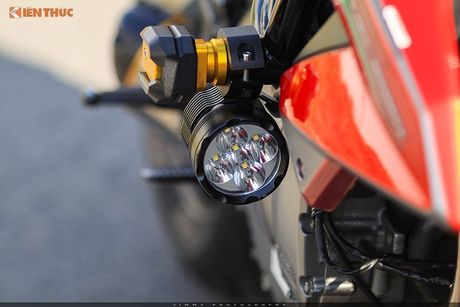 Moto PKL 'tau' Benelli BN600i do do choi hieu tai Sai Gon - Anh 7