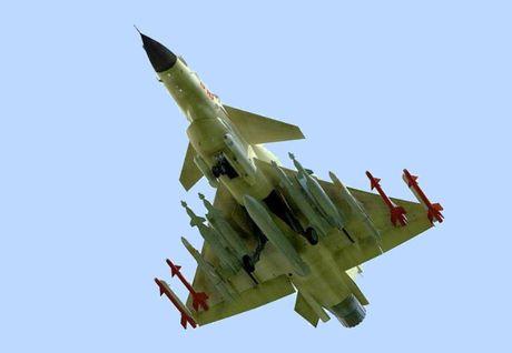 Tiem kich J-10 Trung Quoc bi…chim tan cong, phat no - Anh 10
