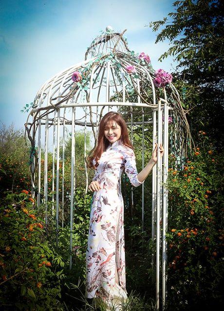 Chan dung xinh dep cua tan Hoa khoi Sinh vien Ha Noi - Anh 10