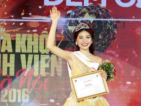 Chan dung xinh dep cua tan Hoa khoi Sinh vien Ha Noi - Anh 1