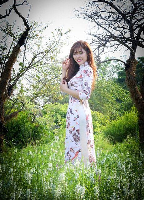 Chan dung xinh dep cua tan Hoa khoi Sinh vien Ha Noi - Anh 8