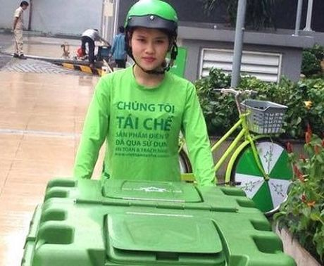 Viet Nam Tai Che den tan cac ho gia dinh thu gom thiet bi dien tu thai bo - Anh 1
