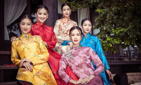 Dan nguoi dep Hoa hau Viet Nam dep me man voi ao dai - Anh 3