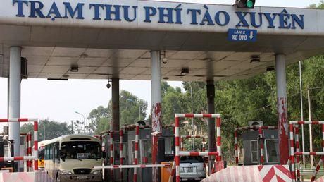 Lap doan kiem tra giam sat hoat dong thu phi cua Tram thu phi Tao Xuyen (Thanh Hoa) - Anh 1