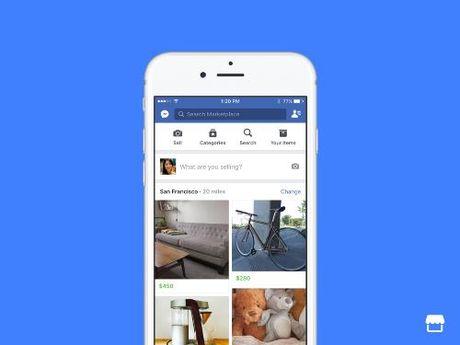 """Facebook trinh lang """"Cho truc tuyen"""" moi - Anh 1"""