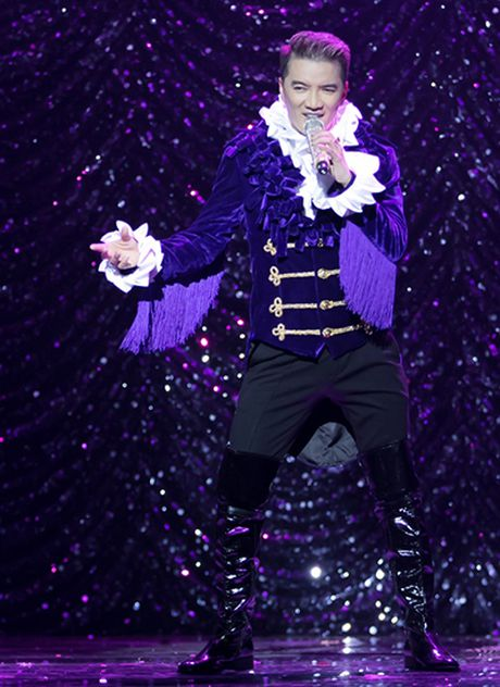 20 bo do lap lanh cau ky cua Mr. Dam trong 'Diamond show' - Anh 7