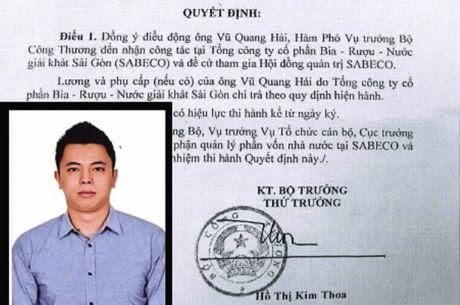 Yeu cau lam ro dieu kien, tieu chuan khi bo nhiem con trai ong Vu Huy Hoang - Anh 1