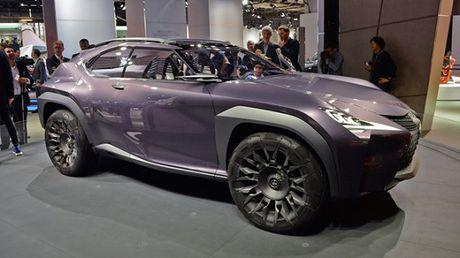 Chiem nguong thiet ke tao bao cua Lexus UX concept - Anh 1