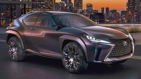 Chiem nguong thiet ke tao bao cua Lexus UX concept - Anh 3