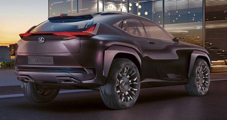 Chiem nguong thiet ke tao bao cua Lexus UX concept - Anh 4