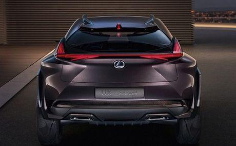Chiem nguong thiet ke tao bao cua Lexus UX concept - Anh 5