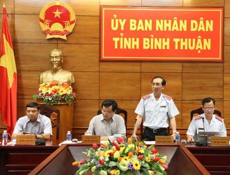 Thanh tra trach nhiem Chu tich UBND tinh Binh Thuan - Anh 1