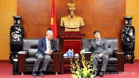 Thu truong Do Thang Hai tiep nguyen CEO Tap doan TAL Group - Hong Kong - Anh 2