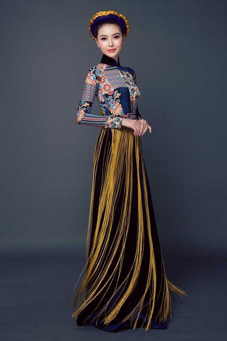 Chiem nguong quoc phuc cua Ngoc Duyen tai 'dau truong' Miss Global Beauty Queen - Anh 1