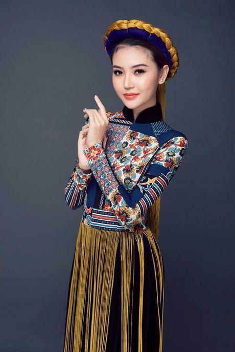 Chiem nguong quoc phuc cua Ngoc Duyen tai 'dau truong' Miss Global Beauty Queen - Anh 2