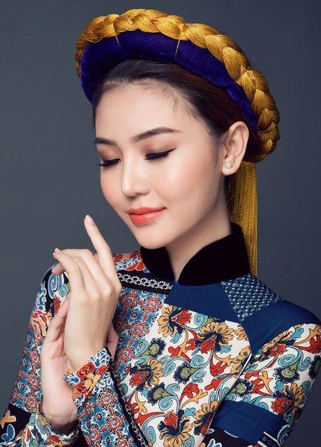 Chiem nguong quoc phuc cua Ngoc Duyen tai 'dau truong' Miss Global Beauty Queen - Anh 3