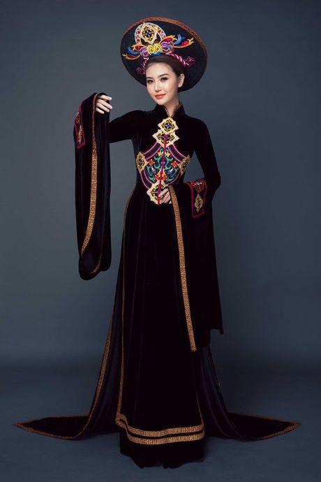 Chiem nguong quoc phuc cua Ngoc Duyen tai 'dau truong' Miss Global Beauty Queen - Anh 4