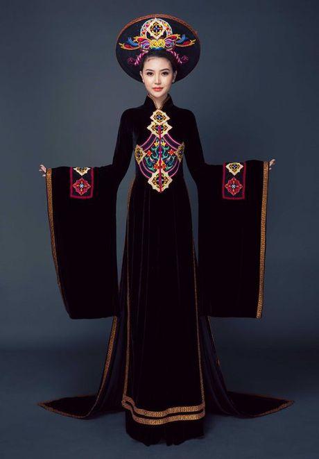 Chiem nguong quoc phuc cua Ngoc Duyen tai 'dau truong' Miss Global Beauty Queen - Anh 5