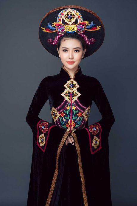 Chiem nguong quoc phuc cua Ngoc Duyen tai 'dau truong' Miss Global Beauty Queen - Anh 6