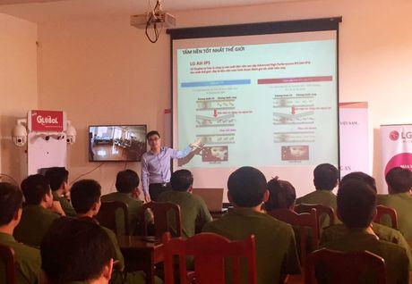 LG Viet Nam va hang Camera Global gioi thieu cac cong nghe tien tien phuc vu hoat dong an ninh hinh su - Anh 1