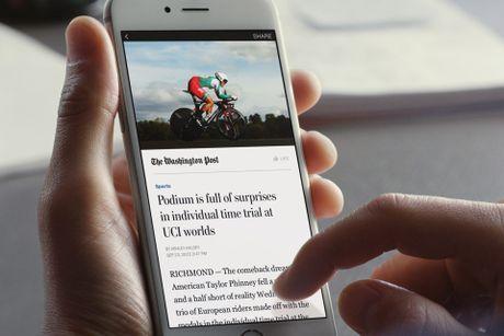 Cac nha xuat ban dang tay chay Facebook Instant Articles - Anh 1