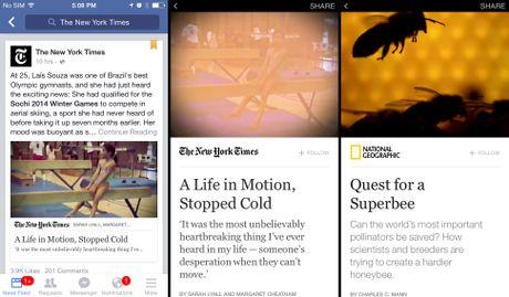 Cac nha xuat ban dang tay chay Facebook Instant Articles - Anh 2