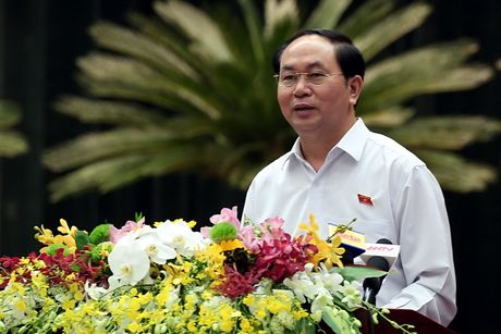 Chu tich nuoc Tran Dai Quang: 'Khong hinh su hoa quan he kinh te, dan su' - Anh 1