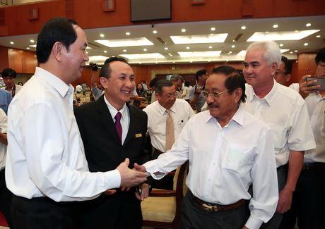 Chu tich nuoc Tran Dai Quang: 'Khong hinh su hoa quan he kinh te, dan su' - Anh 2